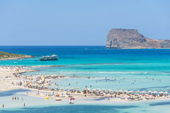 Gramvousa Island And The Balos Lagoon Royalty Free Stock Images