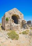 Gramvousa island church Royalty Free Stock Photography