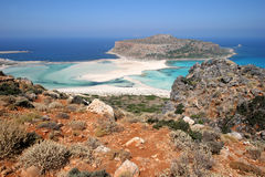 Gramvousa Island, Crete Royalty Free Stock Photo