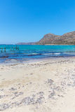Gramvousa, island Crete, Greece. Balos beach. Magical turquoise waters, lagoons, beaches Royalty Free Stock Photos
