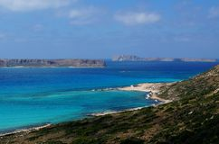 Gramvousa Island, Crete Stock Images