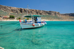Gramvousa island from Greece Stock Photo