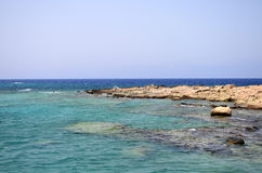 The Gramvousa island, Greece Stock Photography