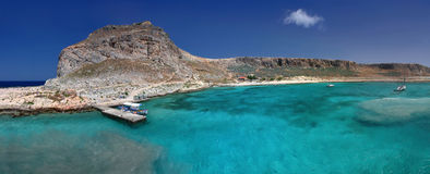 Gramvousa island near Crete Stock Images