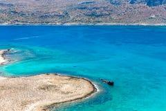 Gramvousa island near Crete, Greece. Balos beach. Royalty Free Stock Photography