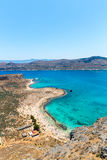 Gramvousa island near Crete, Greece. Balos beach. Magical turquoise waters, lagoons, beaches Royalty Free Stock Image