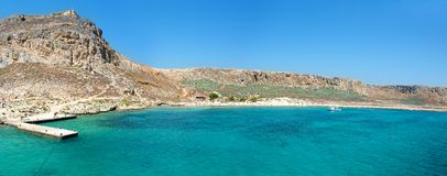 Gramvousa island  Panorama Stock Photo