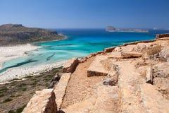 Lagoon Balos, Gramvousa, Crete, Greece Royalty Free Stock Photo