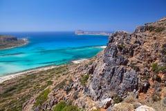 Gramvousa Island, Crete, Greece. Stock Image