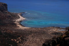 The Gramvousa island Royalty Free Stock Image