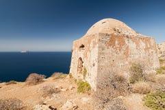 Gramvousa, Kreta, Griechenland lizenzfreie stockbilder