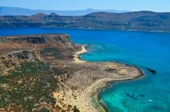 Gramvousa wyspa Zdjęcie Royalty Free
