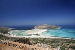 Gramvousa wyspa, Północny Crete Zdjęcie Stock