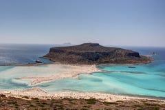 Gramvoussa海岛 图库摄影