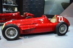 1951年Gran在显示的premio tipo 159在芝加哥车展 库存照片