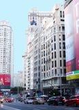 Gran über, Madrid Stockbild