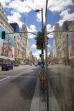 Gran über Straße in Madrid Lizenzfreies Stockfoto