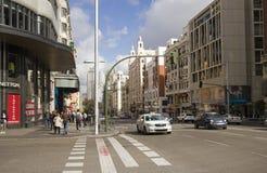 Gran μέσω στη Μαδρίτη, Ισπανία στοκ εικόνες