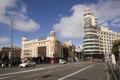 Gran μέσω στη Μαδρίτη, Ισπανία στοκ φωτογραφίες με δικαίωμα ελεύθερης χρήσης