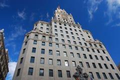 gran Μαδρίτη Ισπανία μέσω Στοκ Εικόνα