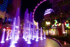 Gran apostador de Las Vegas Imagen de archivo libre de regalías