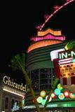 Gran apostador Ferris Wheel en Las Vegas Fotos de archivo libres de regalías