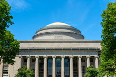 Gran bóveda de Massachusetts Institute of Technology (MIT) Imagen de archivo libre de regalías