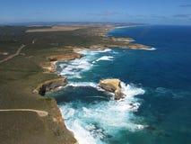 Gran borde del mar del camino del océano Foto de archivo