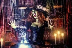 Gran bruja Foto de archivo