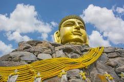 Gran Buda de oro, Corea Foto de archivo libre de regalías
