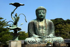 Gran Buddha Imagen de archivo libre de regalías