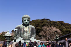 Gran Buddha de Kamakura Foto de archivo libre de regalías