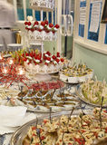 Gran buffet Stock Photos