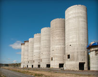 Gran buildig del monolit Imagen de archivo
