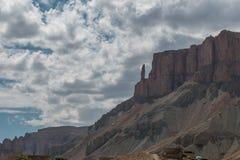Gran Cañón de Afganistán Foto de archivo libre de regalías