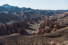 Gran Cañón de Charyn en Kazajistán Imagen de archivo