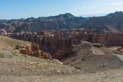 Gran Cañón de Charyn en Kazajistán Fotos de archivo libres de regalías