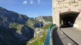Gran Cañón del verdon, Francia imagen de archivo