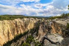 Gran Cañón Yellowstone Imagen de archivo libre de regalías