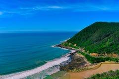 Gran camino del océano Foto de archivo libre de regalías