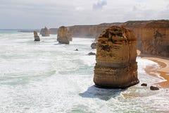 Gran camino del océano, Australia Imagen de archivo