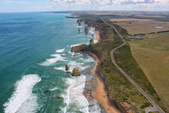 Gran camino del océano, Australia Foto de archivo libre de regalías