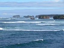 Gran camino del océano de Australia Fotografía de archivo