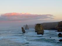 Gran camino del océano de Australia Foto de archivo