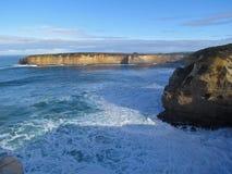 Gran camino del océano de Australia Imágenes de archivo libres de regalías