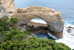 Gran camino del océano - el arco Imágenes de archivo libres de regalías