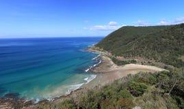 Gran camino del océano Fotografía de archivo libre de regalías