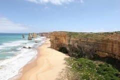 gran camino famoso en Victoria, Australia del océano imagen de archivo