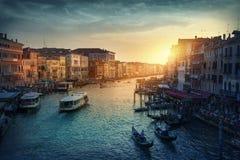 Gran Canal Imágenes de archivo libres de regalías