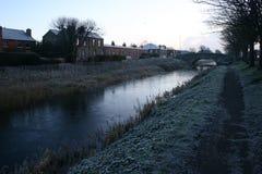 Gran Canal, Dublín Fotografía de archivo libre de regalías
